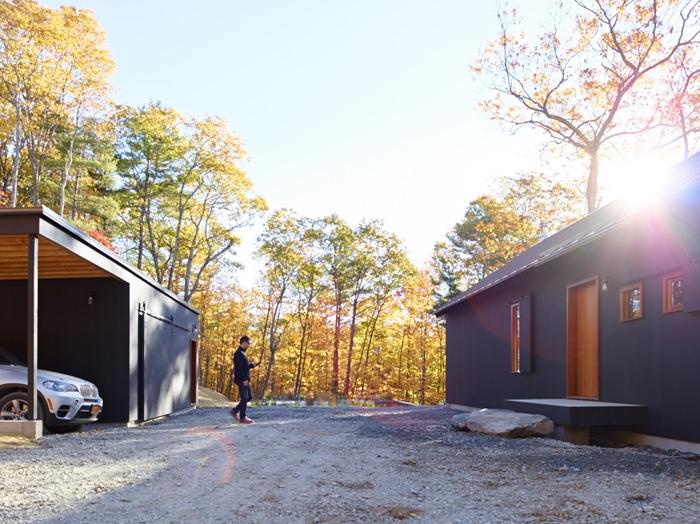 Dutch Door Modern Cabin