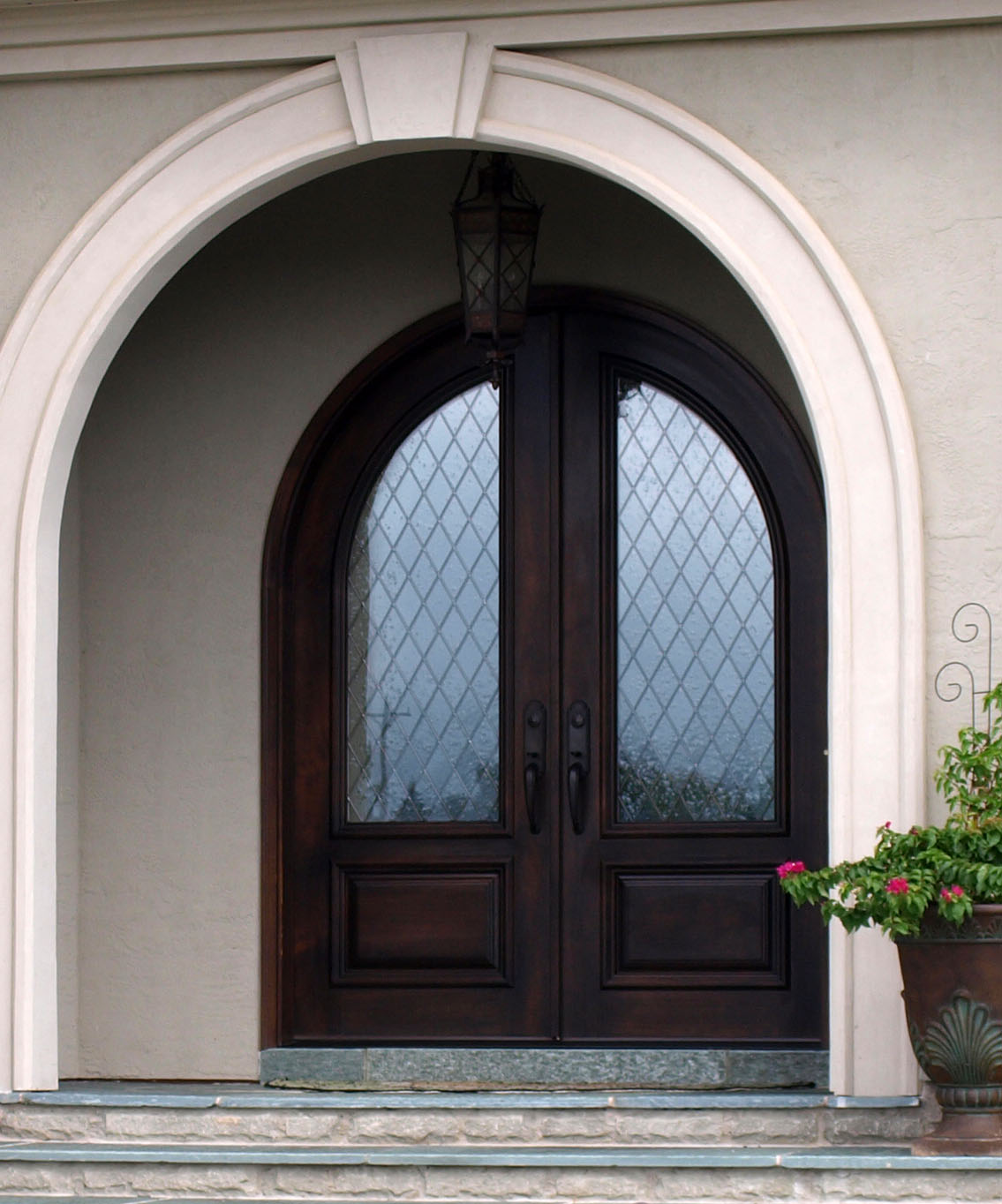 Hardwood Exterior Doors Premier Custom Millwork Surfaces Inc Wooden Doors Interior