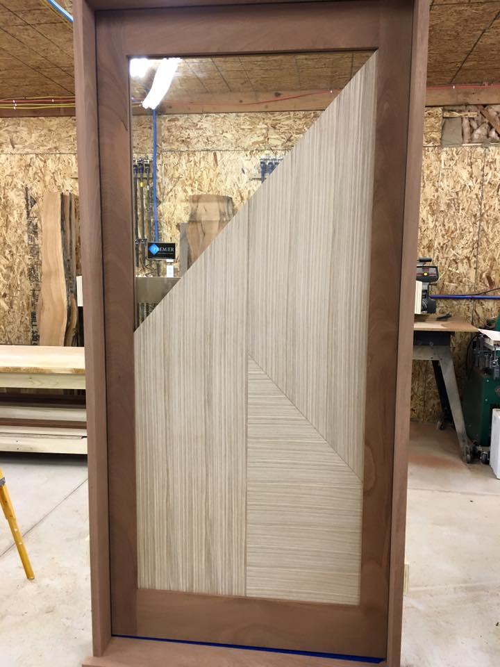 Hardwood Exterior Doors Premier Custom Millwork