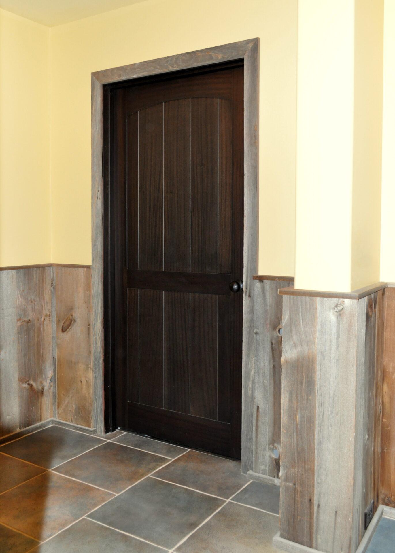devotee with doors home door minimalist a black custom interior made modern