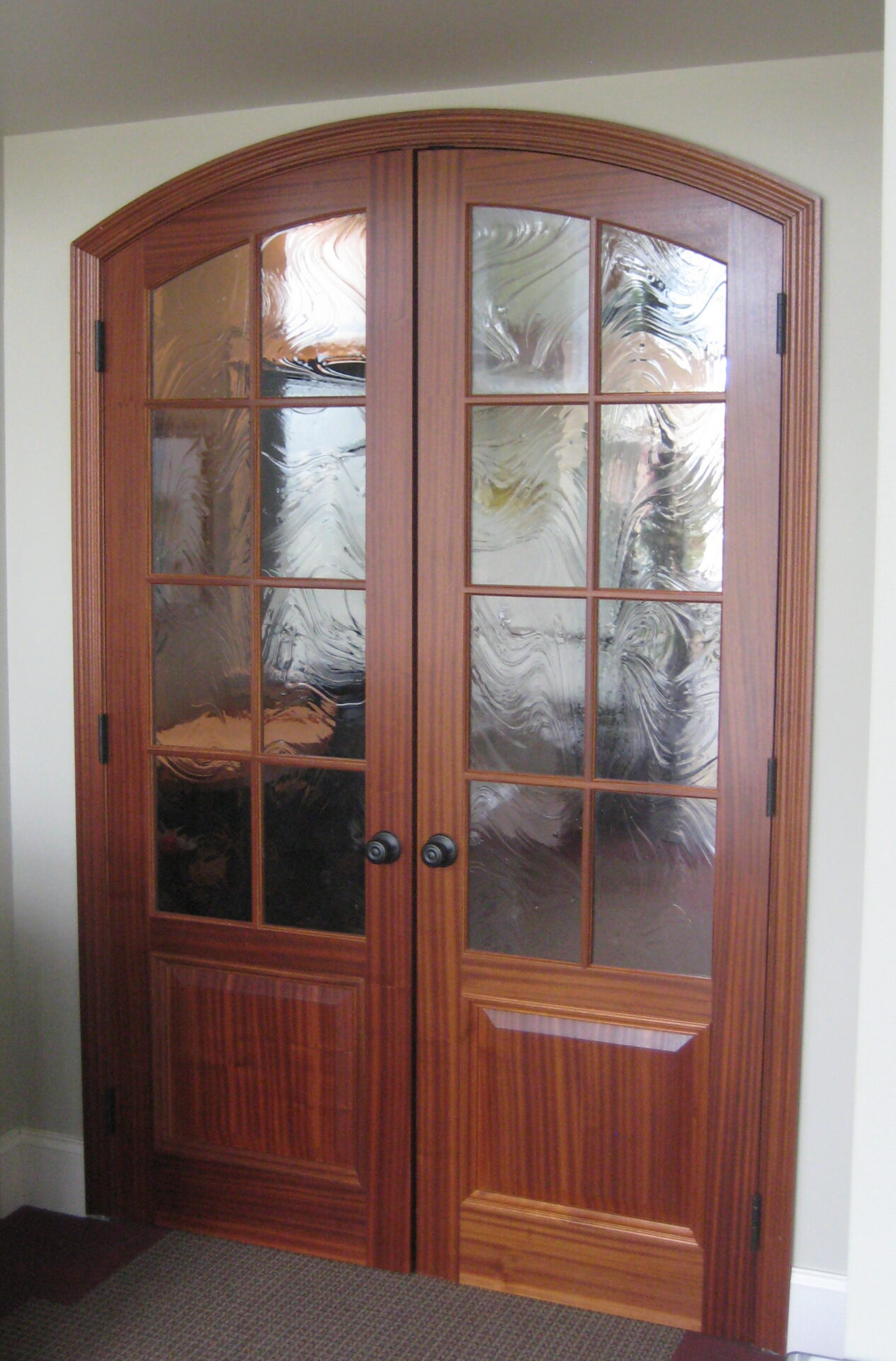 Hardwood interior doors premier custom millwork for Custom interior doors