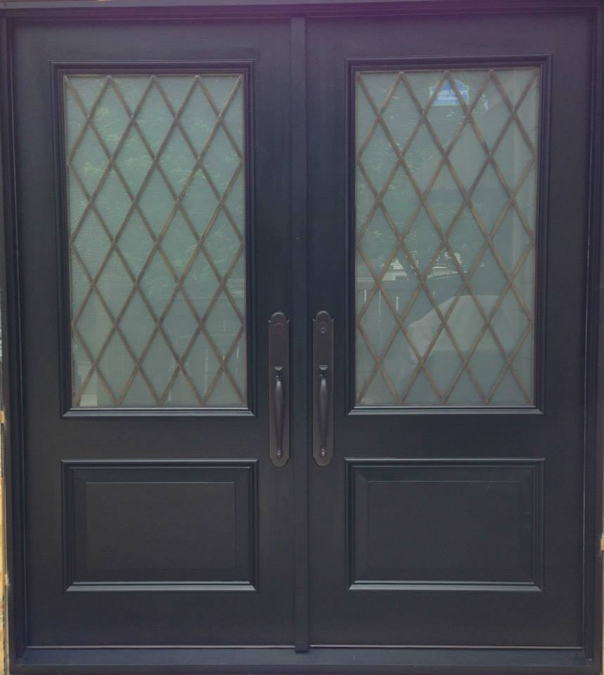 Hardwood exterior doors premier custom millwork for Hardwood entrance doors