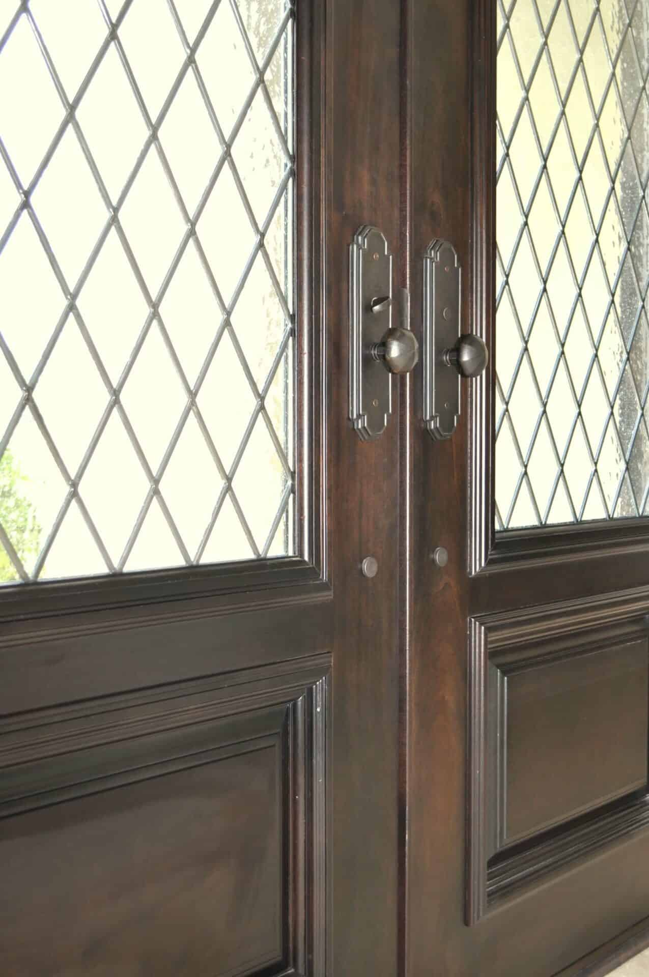 Wooden Glass Doors Rochester