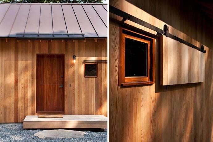 Mahogany Casement Window
